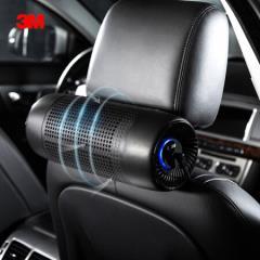 3M 车载空气净化器 车载净化器 汽车空气净化器除甲醛 新车除味除PM2.5 高效过滤 智能静音 68002