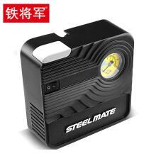 铁将军(steel mate)迷你车载充气泵汽车打气泵车用12v电动便携式应急轮胎充气泵 充气泵P03-机械表
