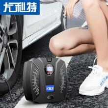 尤利特YD-371数显便携式车载充气泵轮胎电动小轿车汽车加气泵车用打气泵自行车摩托车