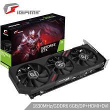 七彩虹 GeForce  台式机电竞游戏电脑显卡 【RTX2060-6G】Ultra