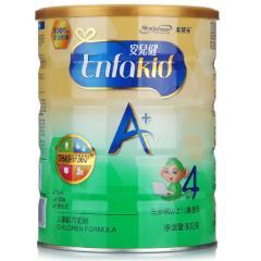 美赞臣(MeadJohnson)安儿健A+幼儿配方奶粉 4段(三岁以上) 900克(罐装) (新旧包装随机发货)