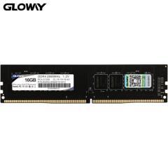 光威(Gloway)16GB 2666频率 DDR4 台式机内存 战将系列