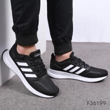 Adidas阿迪达斯男鞋RUNFALCON轻便运动鞋网面休闲鞋透气跑步鞋F36199 F36199 42.5