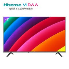 海信(Hisense) 43V1F-R 43英寸 全高清 AI智能语音全面屏液晶平板电视