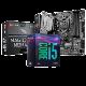 英特尔(Intel)I5 9400F CPU电脑主板9代i5 U套装搭配微星B360 B365主板 电竞小板MAG B365M MORTAR 单主板(不含CPU)