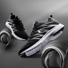 乔丹 男鞋跑步鞋舒适透气运动鞋 XM3570242 黑色/银色 42
